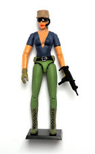"SPYLOUNGE Female Contractor Action Figure 3.75"" Custom GI JOE Star Wars Scale"