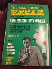 THE MAN FROM UNCLE MAGAZINE July 1966 Vol. 1 No. 6 Solo Kuryakin U.N.C.L.E. Book