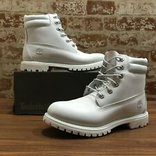 "Timberland Women's 6"" Premium Boot (Light Blue Tint) Waterproof A1PCC SIZE 8.5M"