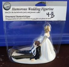 Wilton Your Reception Now I Have You Humorous Wedding Cake Topper New Fun Drag