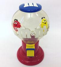 M&M Candy Dispenser Vintage Gumball Machine Classic Logo Original Mars M&Ms
