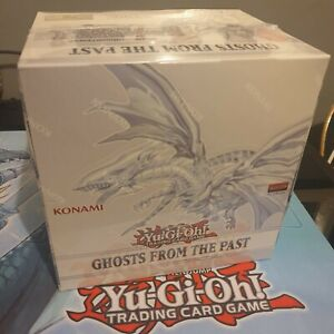 YuGiOh Ghosts From the Past | Sealed CDU Display Box of 5 Units | TCG Cards
