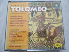 Handel: Tolomeo - Richard Auldon Clark, Lane, Harris, Matthews, Hart - 3 CD USA