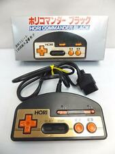 "FAMICOM NES FC "" HORI COMMANDER BLACK CONTROLLER HJ-10 "" BOXED JAPAN"