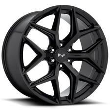 "(4) 24"" Niche Wheels M231 Vice SUV Gloss Black Rims(B47)"
