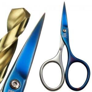 Stahlkrone Solingen Selbstschärfende Nail Scissors Dark Stainless Steel Titanium