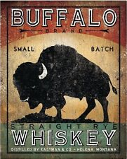 Buffalo Whiskey Whiskey by Ryan Fowler Vintage Ads Buffalo Whiskey Print 11x14