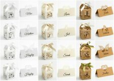 Pack of 10 Luxury DIY Wedding Laser Cut Favour Boxes or Place Cards - Filigree