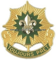 U.S. ARMY 2ND CAVALRY REGIMENT UNIT CREST