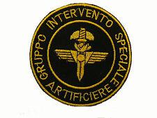 Patch Toppa GIS Artificiere Gruppo Intervento Speciale Carabinieri