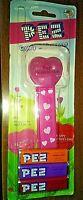 Vintage Valentine Red Happy Valentine's Day Heart PEZ Dispenser NEW in packaging