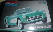 MONOGRAM 1957 CHEVY CORVETTE 1/24 FS Model Car Mountain KIT 2924