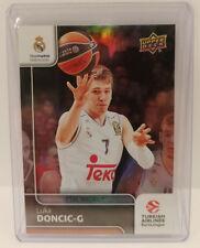 Luka Doncic 16-17 Upper Deck Euroleague Rainbow Refractor Rookie RC MVP Maverick