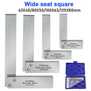 Carbon Steel L 90° Wide Seat Woodworking Wide Sitting Right Angle Measuring Tool