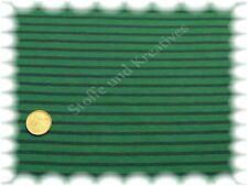 Campan Jersey grün dunkelblau 50 cm Hilco Streifenjersey Baumwolljersey Streifen