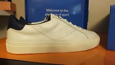 Tory Burch Sport Womens SIze 9  Leather Lace Up Sneakers Chevron Color Black