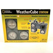 National Geographic Weather Cube Station, New In Box