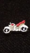 Retro Motorcycle Charm for Living Memory Locket/Origami OWL Locket!