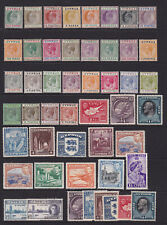 Cyprus. 1903 to 1948. Mint collection on stockcard.