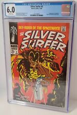 Silver Surfer #3 CGC 6.0 First Mephisto Appearance First App Key Grail 1968 FN