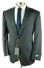 NWT Canali 1934 Medium Grey Impeccabile Wool Coat Jacket 48 L (Fits 46 L)