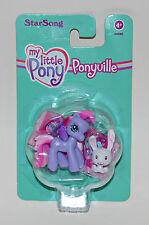 My little Pony G3 Ponyville Starsong mit Hasen OVP MIB Lila Flügel Figur