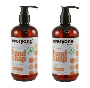 (2) EVERYONE FOR EVERYBODY HAND SOAP APRICOT VANILLA 12.75 FL OZ PUMP