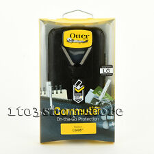 OtterBox Commuter LG G5 Dual Layers Slim Thin Hard Case Snap Cover Black NEW