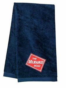 Milwaukee Road Embroidered Hand Towel [08]