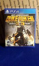 Duke Nukem 3D: 20th Anniversary World Tour (Sony PlayStation 4, 2016) SEALED OOP