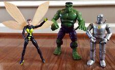 Marvel Legends * AVENGERS Lot * 1st Appearance HULK & IRON MAN + WASP * Loose/Co