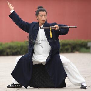 Wudang Taoist Winter Robe Kung fu Tai chi Uniform Martial arts Wing Chun Suit