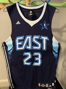 LeBron James signed 2009 Adidas NBA East All Star Jersey - Cavaliers autographed