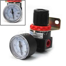 Regolatore di Pressione Compressore AR2000 11mm con Manometro Misuratore Nero