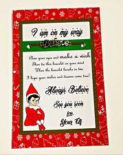 Elf on the shelf accessories wishing bracelet gift  Elf Props Christmas Xmas