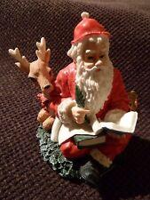 Vintage Raro Adorno De Navidad-Santa Reno Toys-hallazgo raro