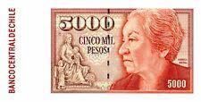 Chile ... P-155e ... 5000 Pesos ... 2004 ... *UNC*.