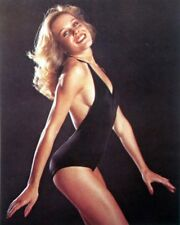 DEBBIE FEUER sexy clipping 1980s color photo Hollywood Knights blonde swimsuit
