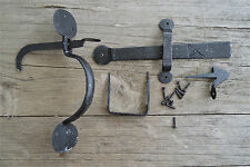 Classic country style rustic antique iron Suffolk latch door handle set WH56