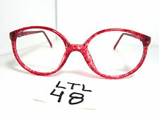 Vtg 90s Charmant Eyeglass Frame 4761 Red Sj Boys Girls Small Fit (Ltl-48)