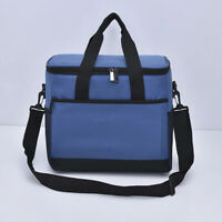 Double Deck Lunch Bag Dual Compartment for Women Men Work Office Insulated Box-Y