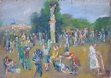 Michel LEFEBVRE (1930) HsP Signée / Carnaval Carnival / Fauvisme / Versailles
