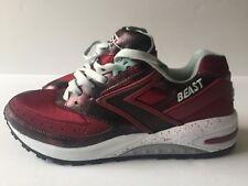 Brooks Beast 1 Mens Running Shoes Rumba Red Vintage 90s TB NWB