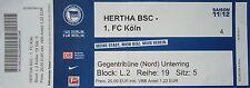 TICKET 2011/12 Hertha BSC Berlin - FC Köln