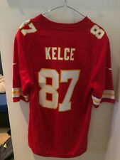 NIKE KANSAS CITY CHIEFS TRAVIS KELCE HOME MEDIUM NFL JERSEY