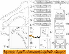 Ford OEM 2015-2018 F-150 Fender Mud Shield Left FL3Z16103AA New in package