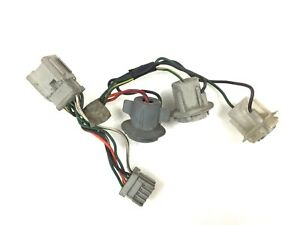 94-95 Accord 2/4Dr Socket&Wire Left Rear Light Taillight Turn Brake Lamp Plug