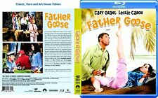 Father Goose ~ New Blu-ray ~ Cary Grant, Leslie Caron (1964)