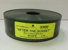 35mm Film Trailer After The Sunset SCOPE New Line Cinema 100413ame