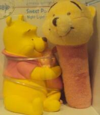 Infant Disney Winnie Sweet Pooh Night Light & Soft Plush Rattle Gift Set